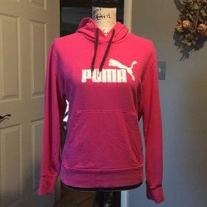 Pink Puma hoodie